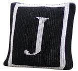 Classic Monogram Border Custom Name Monogram Pillow (2 Sizes)