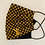 Thumbnail: LV Embroidered Damier Fabric Face Mask - Multiple Sizes - Filter or Classic