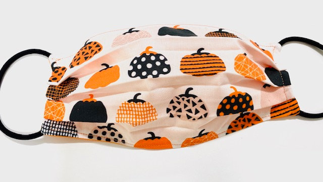 Multi Pumpkin Face Mask - Multiple Sizes - Filter or Classic