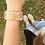 Thumbnail: Monogram Custom Cuff Bracelet Clear