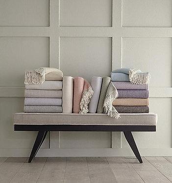 SFERRA Celine Throw Blanket - Monogramming Optional