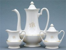 Signature Monogram small Coffee/Tea Pot