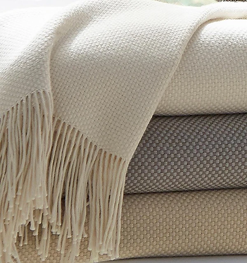 SFERRA Bristol Throw Blanket - Monogramming Optional