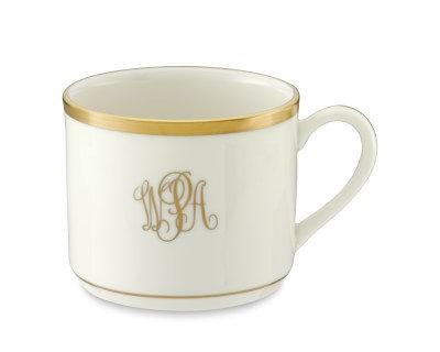 Tea Cup - Set of 4 - Signature Monogram