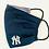 Thumbnail: New York Yankees Fabric Face Mask - Multiple Sizes