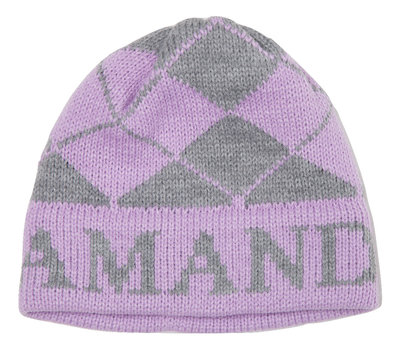 Argyle & Name Hat