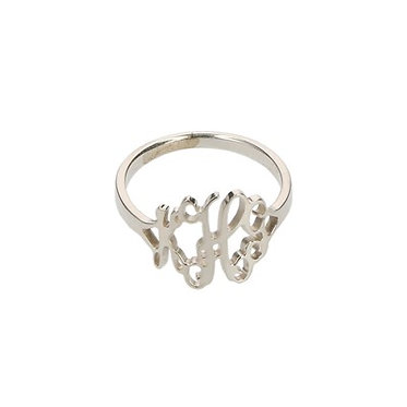 Filigree Small Ring In Sterling Silver or Gold Plate