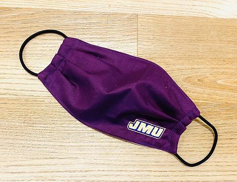 James Madison University Fabric Face Mask - Multiple Sizes