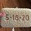 Thumbnail: Custom Monogram RAISED Pearl Beaded Clutch With Chain Strap