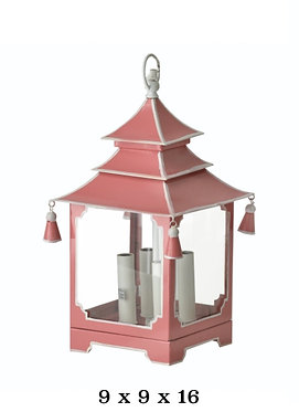 Pagoda Small Chandelier Electric
