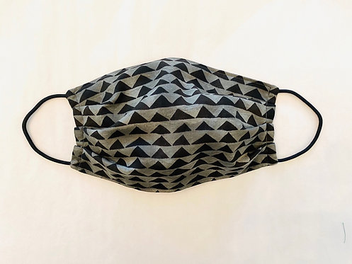 Mini Mountain Print Fabric Face Mask - Multiple Sizes - Filter or Classic