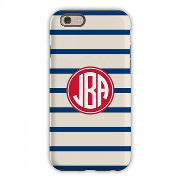 Boatman Geller Nautical Stripe Phone Case