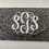 Thumbnail: Custom Monogram Envelope Envelope Beaded Clutch Handbag With Chain Strap