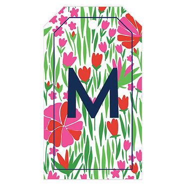 Tulip Red Hot Pink Gift Tags