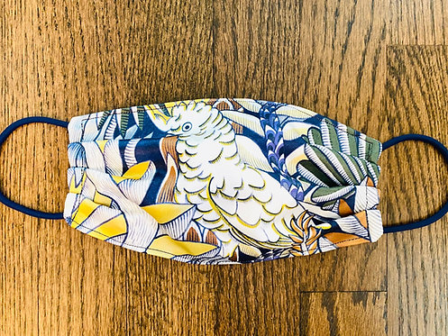 Hermès Fabric H Animaux Camoufles Print Face Mask