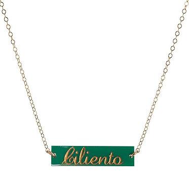 Custom Monogram Name Necklace