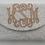 Thumbnail: Custom Monogram Envelope Envelope Beaded Clutch Handbag With Chain Strap