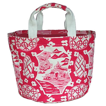 Canton In Pink Bucket Tote