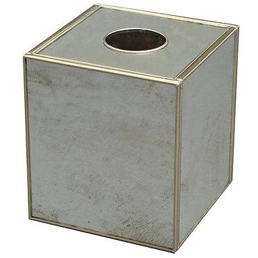 Antique Mirror Tissue Box Cover