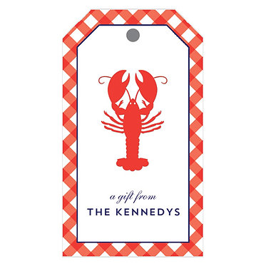 Lobster Gift Tags