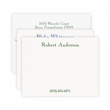 Classic Note Cards
