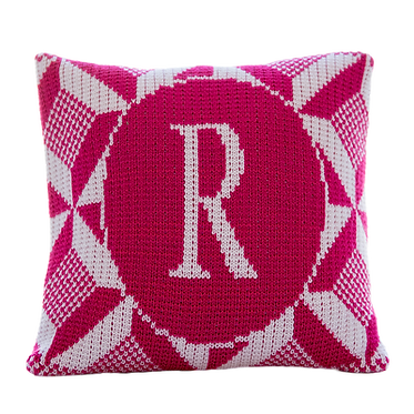 "Puzzle 15"" x 15"" Custom Name Pillow"