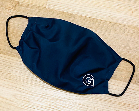 Georgetown Fabric Face Mask - Multiple Sizes