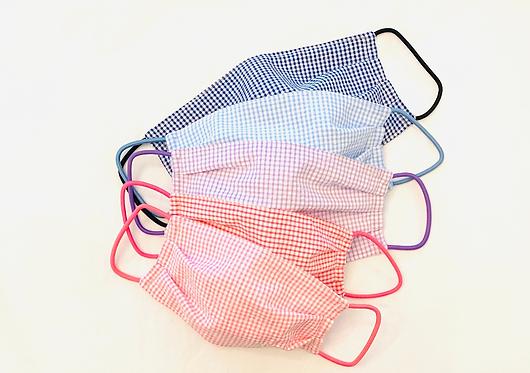 Fabric Face Mask Seersucker Prints - NO MONOGRAM - Multiple Sizes