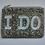 Thumbnail: Custom Monogram Name Beaded Key Chain Key Fob Coin Purse