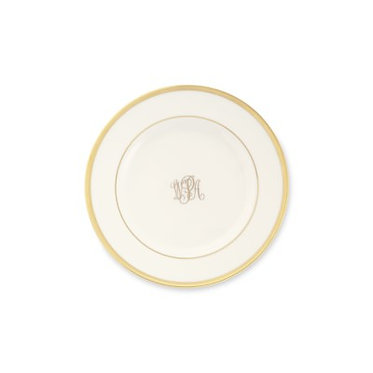 Bread | Butter Plate - Set of 4 - Signature Monogram