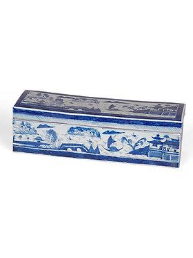 Blue & White Canton Box