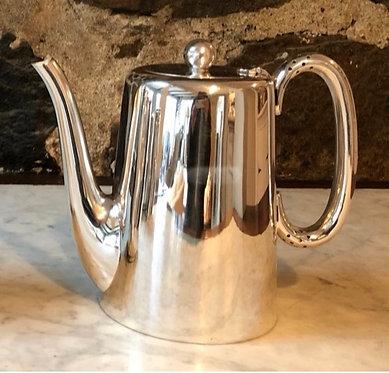 """HÔTEL Silver 7"""" Vintage Coffee Pot (2 Pints)"""