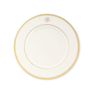 Salad Plate - Set of 4 - Signature Monogram