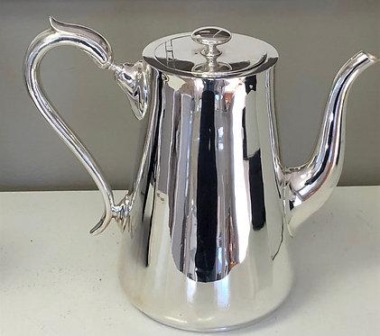 "HÔTEL Silver Jumbo 9.25"" H Vintage Coffee Pot - Hotel Silver"