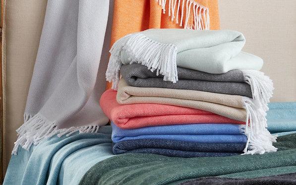MATOUK Pezzo Throw Blanket - Monogramming Optional
