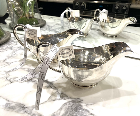 HÔTEL Silver Sauce Boats - Available in two sizes - Hotel Silver
