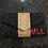 Thumbnail: Custom Monogram Envelope Beaded Clutch Handbag With Chain Strap
