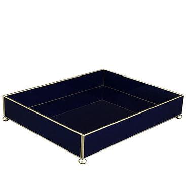 Cobalt Blue Large Vanity Tray
