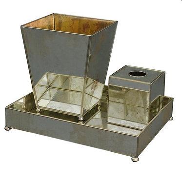 Antique Mirror Bathroom Vanity Set