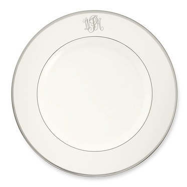 """Charger Plate 11 3/4""""- Signature Monogram"""
