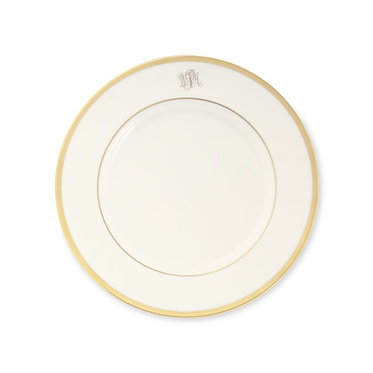 Dinner Plate - Set of 4 -  Signature Monogram By Pickard
