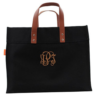 Canvas Monogrammed Advantage Tote