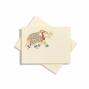 Elephant Notecards | Set of 8 | Bernard Maisner