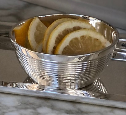 HÔTEL Silver - Private Label Collection - Ribbed Nut Bowl