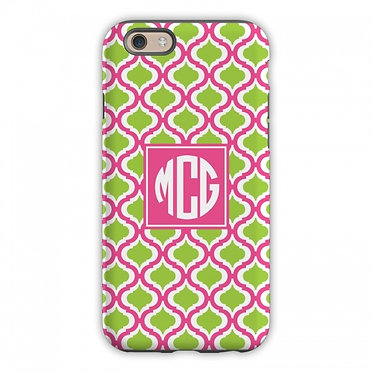 Boatman Geller Kate Raspberry & Lime Phone Case