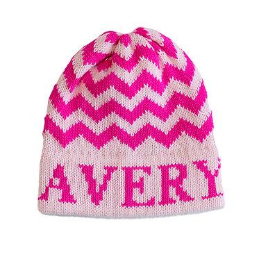 Chevron Name Hat