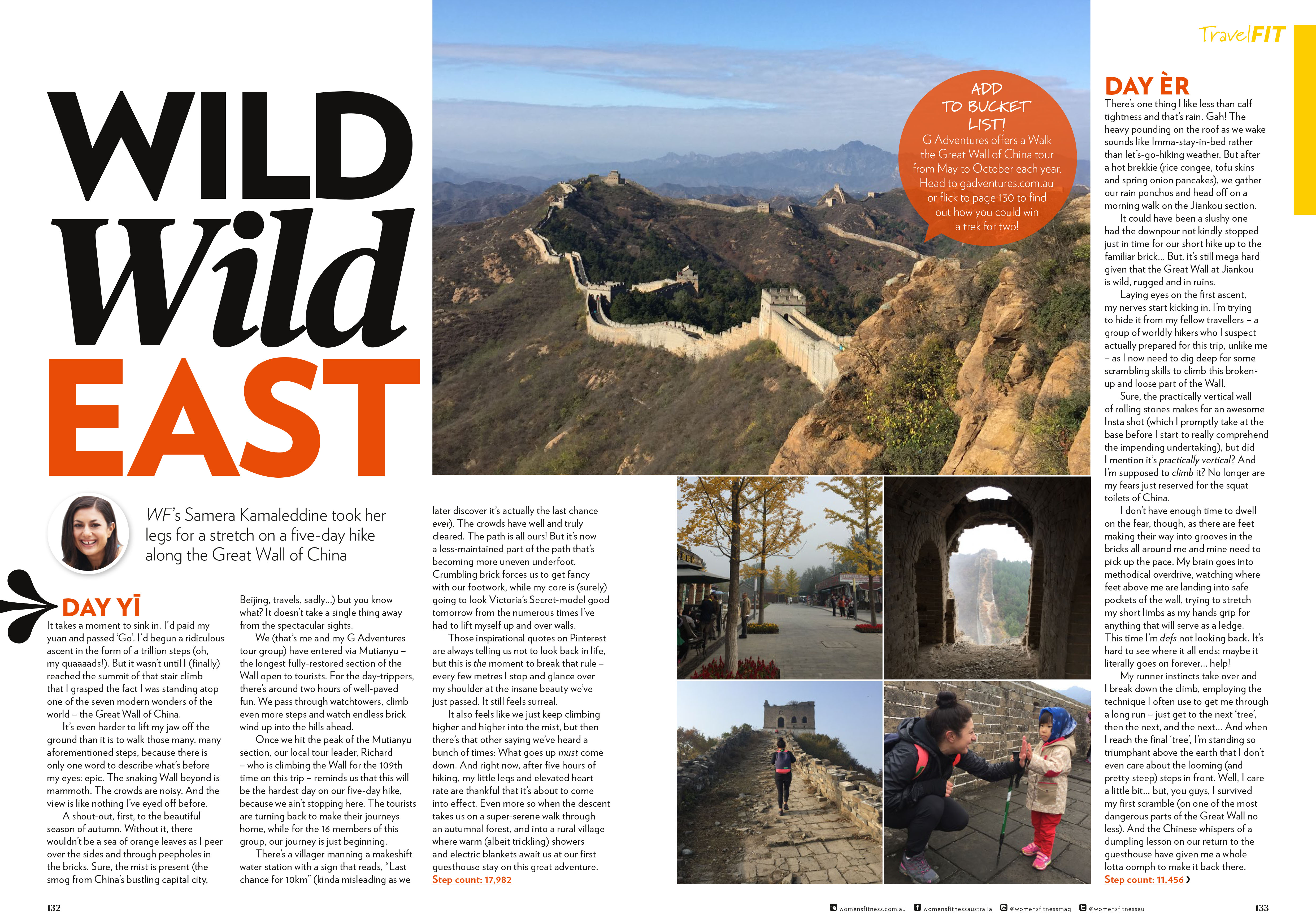 Travel: Great Wall of China