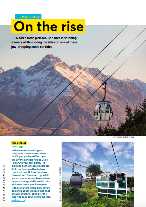 Jetstar: Cable cars