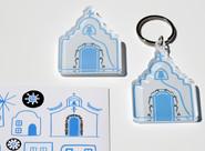 plexiglass keyring and magnet