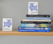 marble bookend